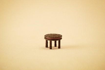 「シルバニアファミリーのみんなとチョコのおうちを作ろう!」テーブル