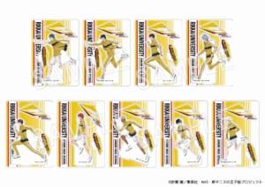 「新テニスの王子様 氷帝vs立海 Game of Future 公開記念 POP UP SHOP@ OIOI ~Dash & Work experience~」アクリルスタンド ダッシュ 立海(全9種)