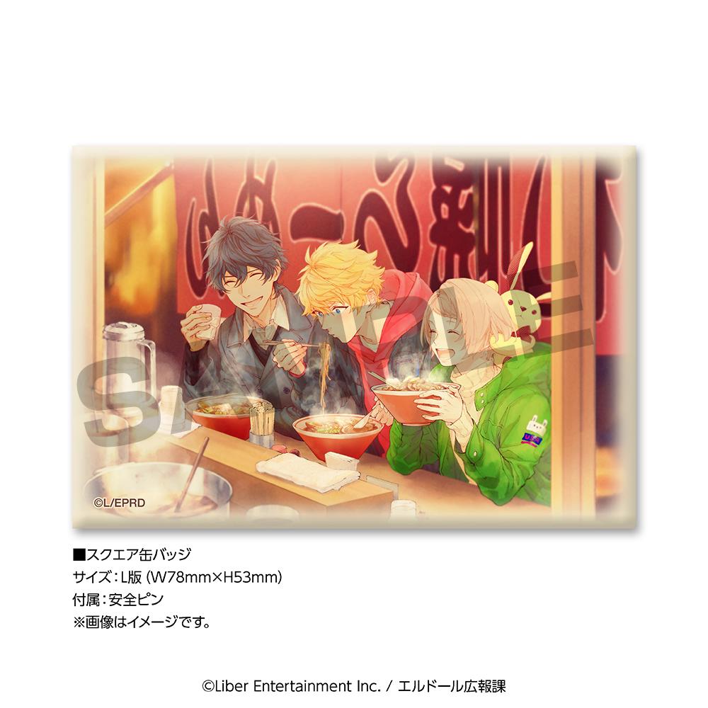 TVアニメ『アイ★チュウ』「エンドカードコレクションセットvol.1 F∞F」アイチュウ_スクエア缶バッジ