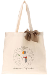 「ニャンコ先生ショップ」earth music&ecologyコラボ リボン付きトートバッグ