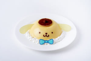 「Sanrio Characters CAFE」ポムポムプリンのしあわせたっぷりプリン