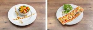 「セガコラボカフェ 呪術廻戦」五条の処理しきれない具沢山ライスプレート・七海のクリティカルヒットピザ