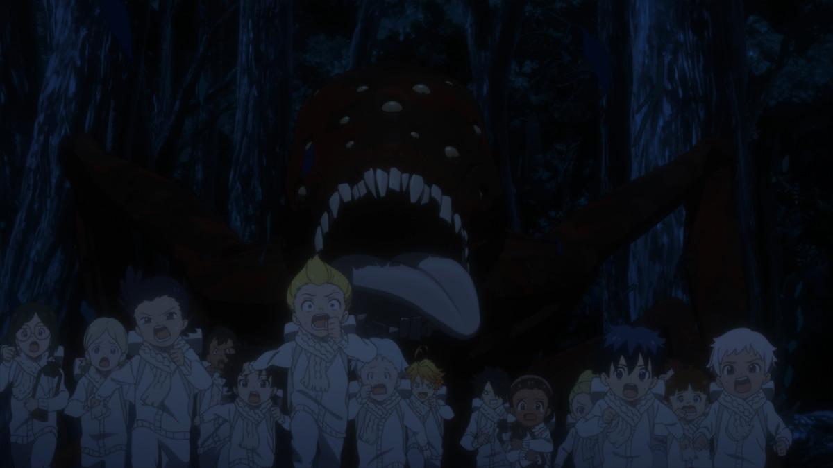 TVアニメ「約束のネバーランド」Season 2第1話場面写真
