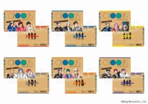 クロッキー帳 (全6種)