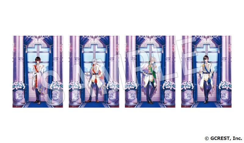 新王子登場記念「夢100 NewYearShop2021」NewYearShop2021 ブロマイド風カード 2 枚セット