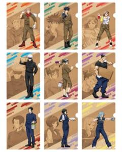 「呪術廻戦アニメ放送記念フェアin東急ハンズ 第2弾」クリアファイル(DIYシリーズ)9種:385円