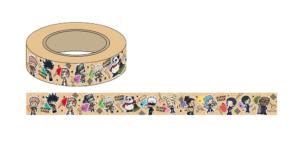 「呪術廻戦アニメ放送記念フェアin東急ハンズ 第2弾」マスキングテープ(DIYデフォルメシリーズ):550円