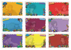 「呪術廻戦アニメ放送記念フェアin東急ハンズ 第2弾」封筒セット(文房具カフェコラボ):330円