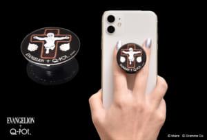 EVANGELION×Q-pot. PopSockets Smartphone Grip Stand / Lilith Sugar Cookie