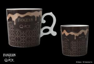 EVANGELION×Q-pot. メルティーインパクト マグカップ