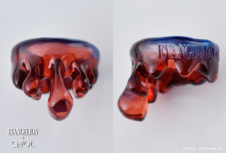 EVANGELION×Q-pot. 赤い海 青い海 メルトリング