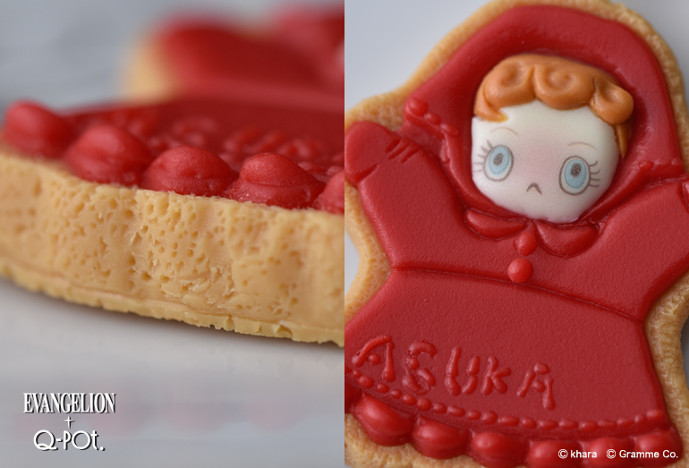 EVANGELION×Q-pot. アスカのパペット シュガークッキー
