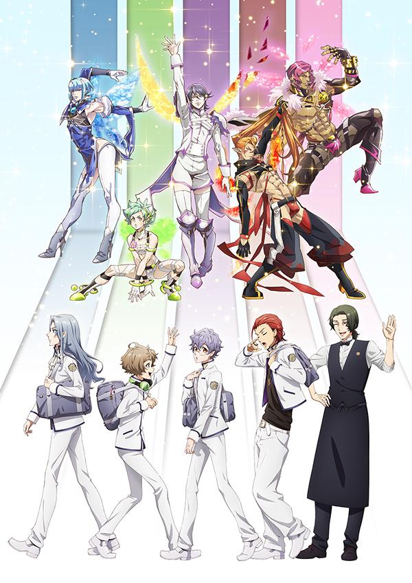 TVアニメ「Fairy蘭丸~あなたの心お助けします~」ビジュアル