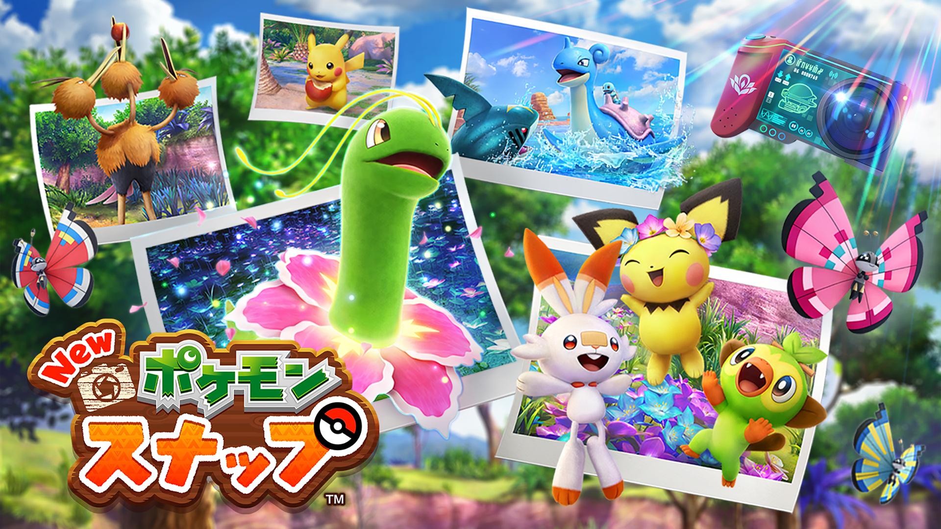 Nintendo Switchソフト「New ポケモンスナップ」4月30日発売決定&最新PV公開!未知の島での冒険が今始まる
