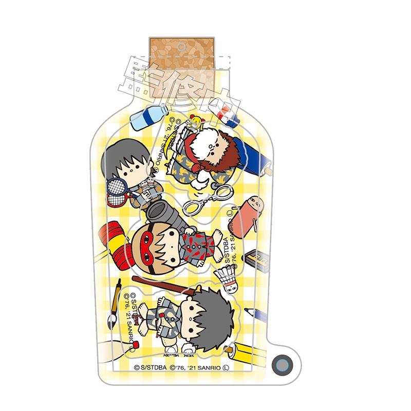 銀魂×Sanrio characters しゃかしゃかキーホルダー