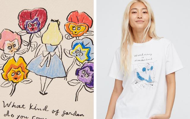 「不思議の国のアリス」×ユニクロ「UT」コラボコレクション登場!チャーム、豆皿もラインナップ
