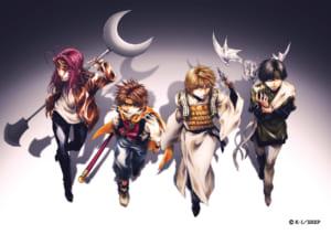 TVアニメ「最遊記RELOAD -ZEROIN-」ティザービジュアル