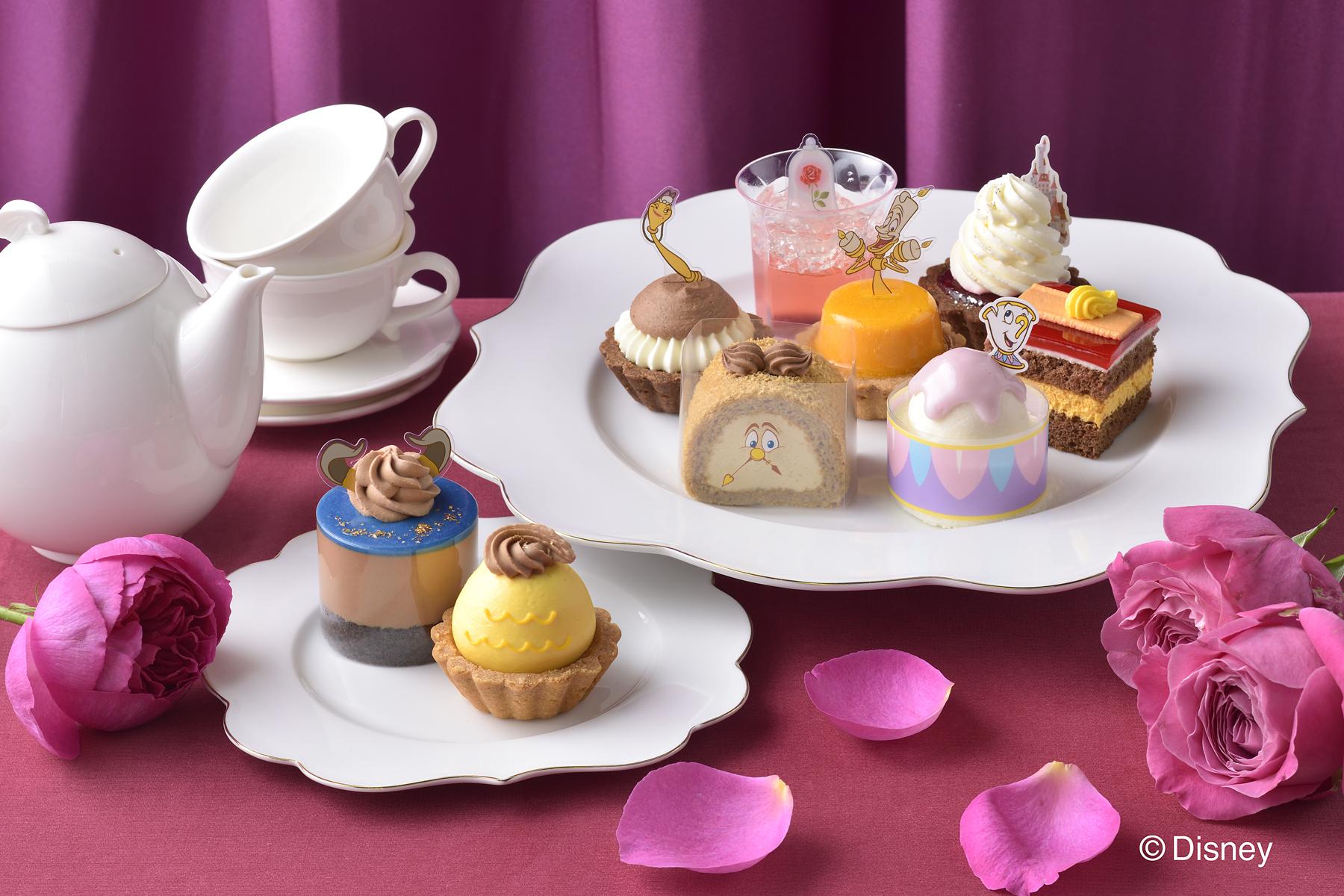 「リトル・マーメイド」「美女と野獣」でひな祭りをお祝い♪「銀座コージーコーナー」でデコレーションケーキ発売