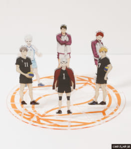 ハイキュー!!Acrylic Figures!! 北信介/宮侑/宮治/牛島若利/天童覚/星海光来