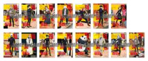 「呪術廻戦」×「TOWER RECORDS」渋谷店8階 展示会 物販購入特典①