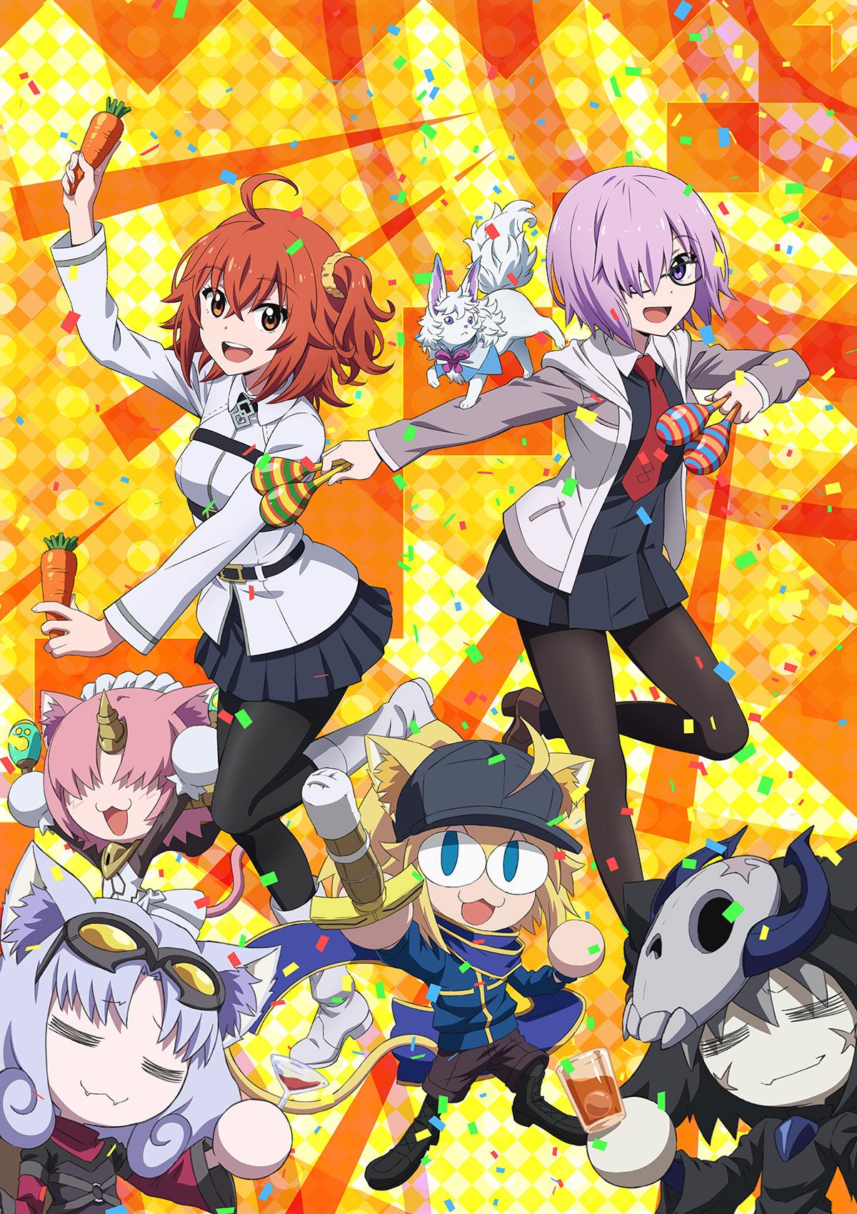 OVA「Fate/Grand Carnival」本ビジュアル