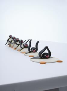 「40周年記念 ピングー展」時間オブジエ