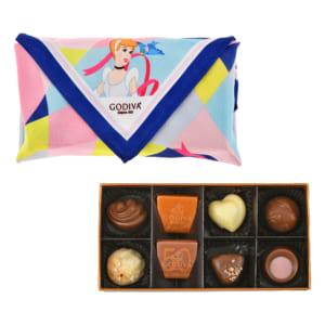 【GODIVA】シンデレラ ゴールド コレクション スカーフセット Special Valentine