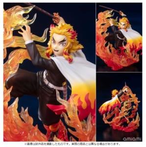 第9位:フィギュアーツZERO 煉獄杏寿郎 炎の呼吸 『鬼滅の刃』