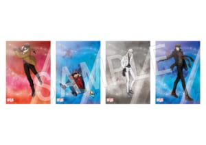 血界戦線 & BEYOND B2クリアポスター スケートver.B(全4種)