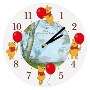 ディズニー 「くまのプーさん」 おひさまマーケット「アクリル時計【限定200個】」