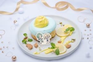 「Memorial DREAM!ing Cafe」Brave Runners~チョコミントレモンパンケーキ~