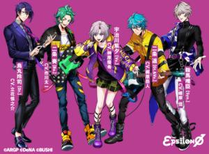 アプリゲーム「アルゴナビス from BanG Dream! AAside(アルゴナビス フロム バンドリ︕ ダブルエーサイド)」εpsilonΦ