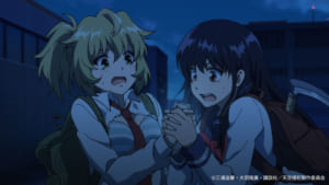 Netflixオリジナルアニメシリーズ「天空侵犯」先行場面カット