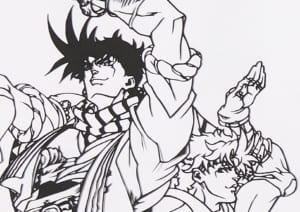 伽羅切絵 TVアニメ「ジョジョの奇妙な冒険」 戦闘潮流