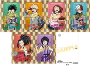 「僕のヒーローアカデミア 」TVアニメ第5期放送直前フェア in アニメイト 特典:ポストカード