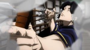 TVアニメ「呪術廻戦」第18話「賢者」先行カット 弓を使用する加茂