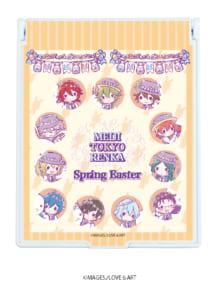 「明治東亰恋伽」×「GraffArt」スペシャルコラボグッズ「Spring Easter」デカキャラミラー