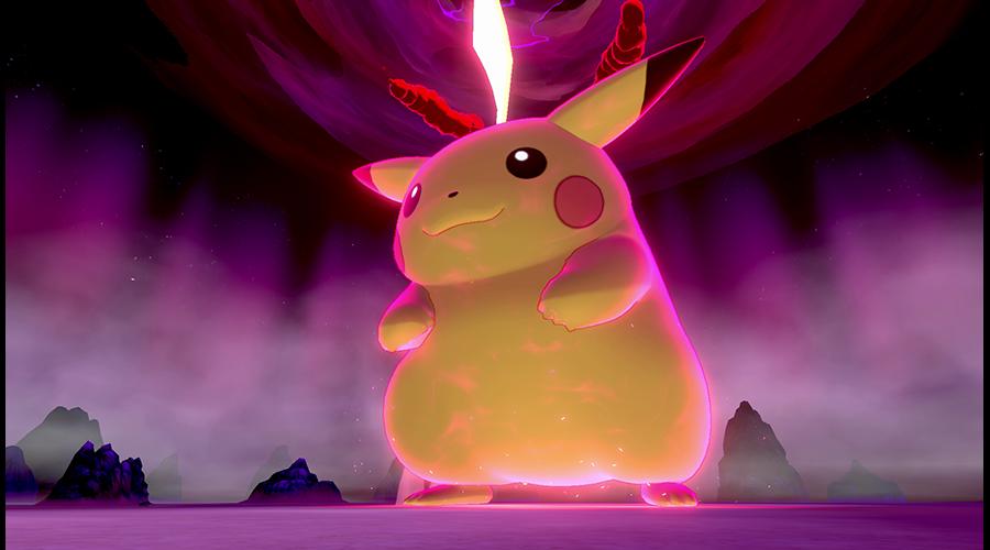 「Pokémon Day」ポケモン剣盾で巨大マックス~
