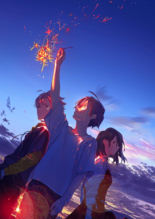 話題のイラストレーター・loundrawさん初監督アニメ映画「サマーゴースト」2021年に公開決定!