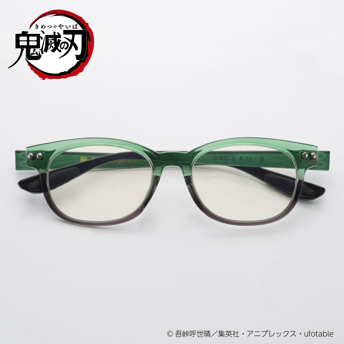 「鬼滅の刃」PCメガネ&ファッショングラスが登場!衣装の柄・モチーフ・名台詞が施されたデザイン