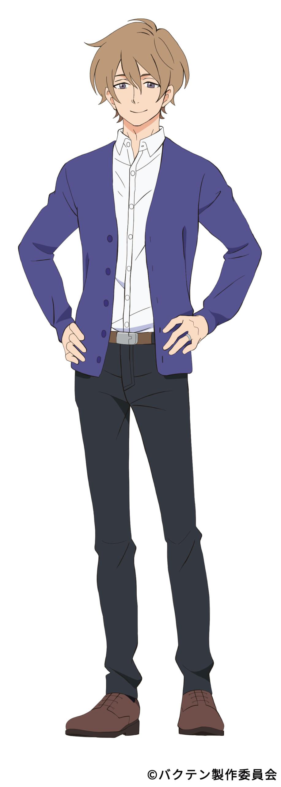 TVアニメ「バクテン!!」アオ高男子新体操部の監督・志田周作役に櫻井孝宏さんが決定!デフォルメキャラデザインも公開