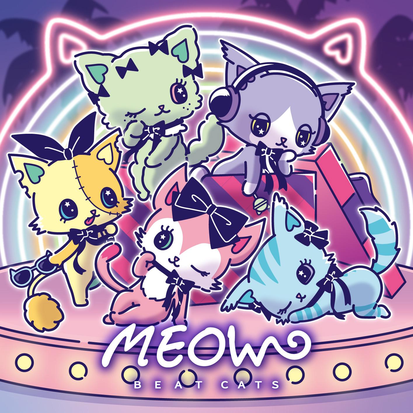 Beatcats「MEOW」ジャケット