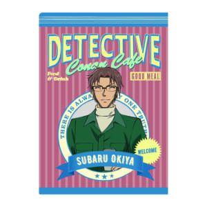「名探偵コナンカフェ」クリアファイル(沖矢昴)