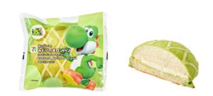 「スーパーマリオブラザーズ35周年」オリジナルメニュー みどりのメロンパン