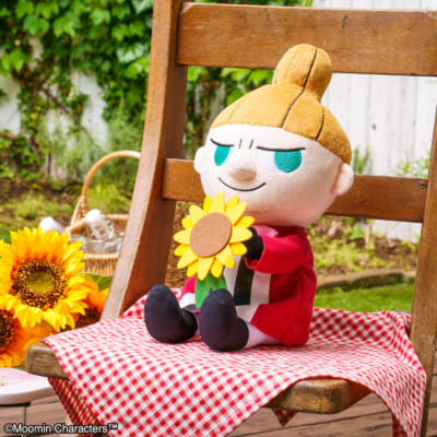 「一番くじ ムーミン~Relaxing Picnic Time~」B賞 リトルミイリラックスぬいぐるみ