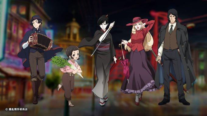 オリジナルTVアニメ「擾乱」2021年4月放送決定!三森すずこさん・蒼井翔太さんさんらキャスト発表&舞台化も決定