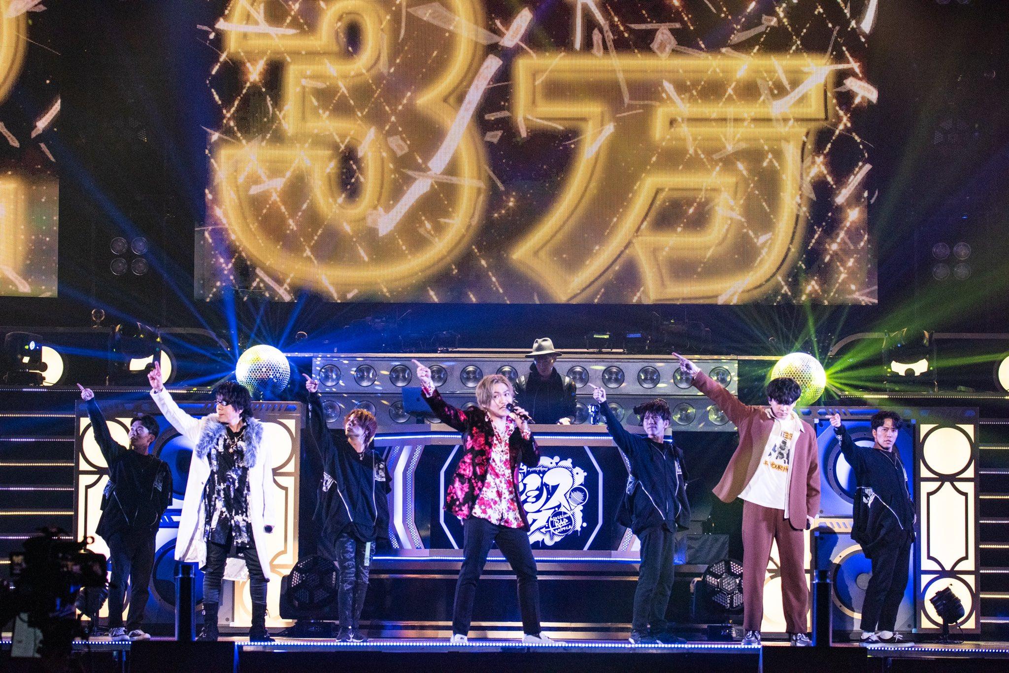 「ヒプマイ 6th LIVE」Bad Ass Temple vs 麻天狼のキャストツイート&オフショットまとめ!