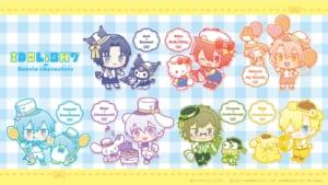 「アイドリッシュセブン」×「サンリオキャラクターズ」IDOLiSH7