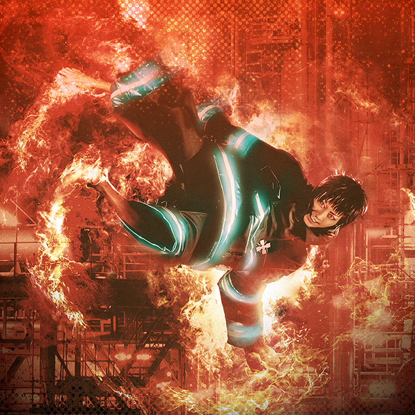 舞台「炎炎ノ消防隊」第2弾が2022年1月に上演決定!佐藤流司さん、郷本直也さんが新キャラ役で参戦