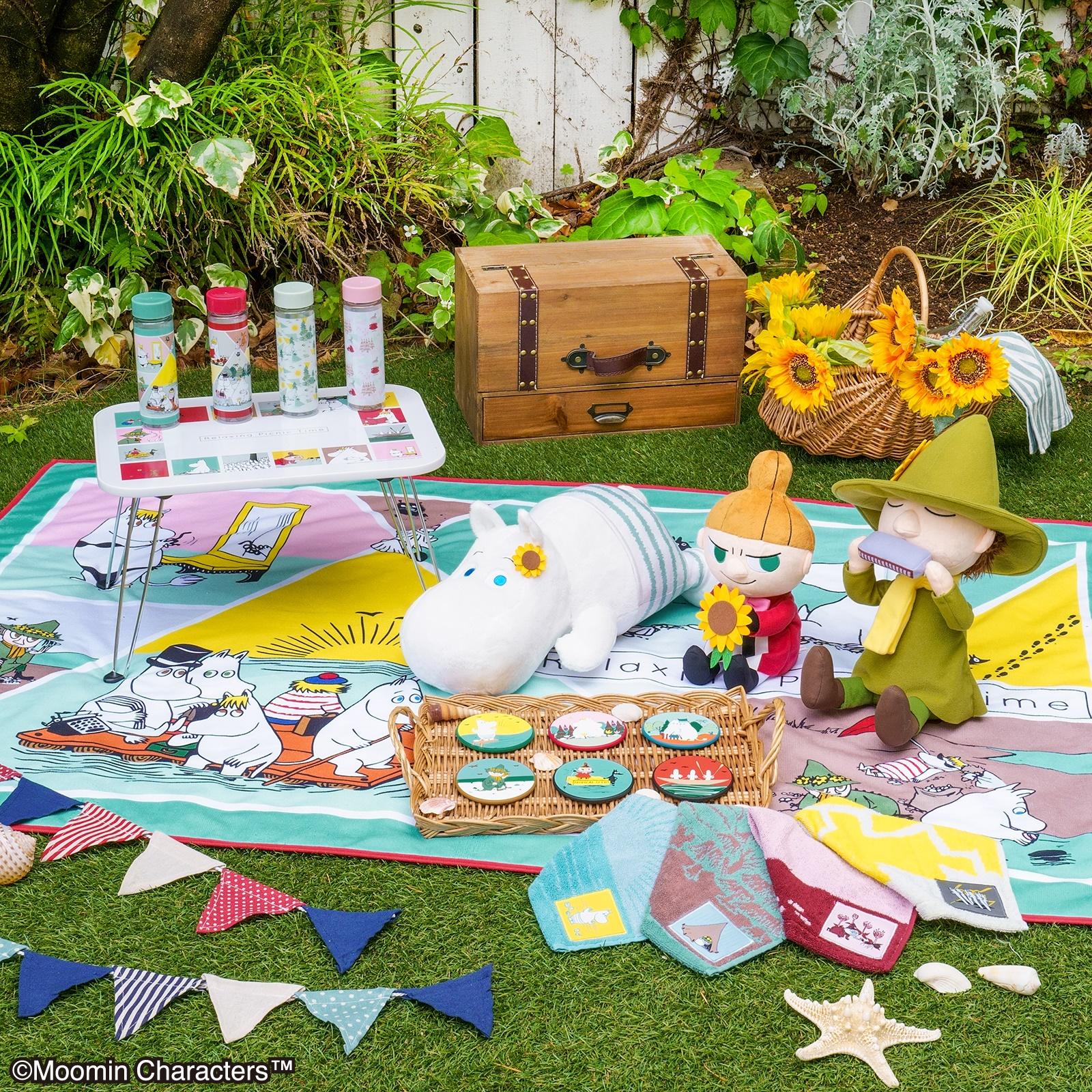 「ムーミン」新作一番くじ、ピクニックに行きたくなっちゃうウキウキなラインナップ!